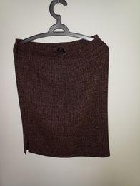 Ciepła spódnica na zimę 40-42