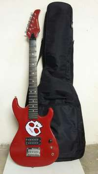 Image of Guitar with pouch.