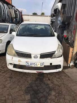 Nissan tida stripping for spare parts