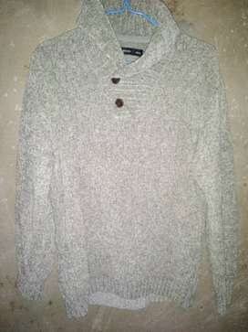 LOOSE FIT TURTLENECK THICK WARM KNITTED PULLOVER SWEATER