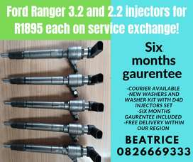 Ford ranger 3.2 and 2.2 injectors for sale