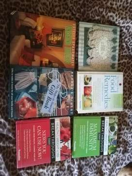 Inspirational and instructions books