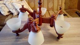 Lampa Sufitowa Żyrandol z kloszami