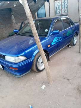 Car in a good condition blue in colour no problem to fix start n go