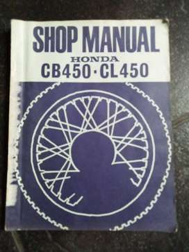 Honda CB450 / CL450 Workshop manual