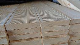 Deska tarasowa swierk ryflowany A/B 28x145 mm