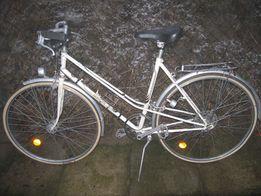 Rower aluminiowy damka