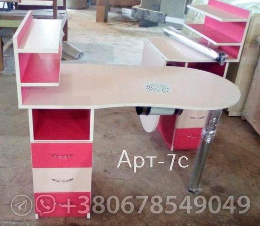 Нежный стол для маникюра - качественный складной маникюрный стол Мариуполь - изображение 2