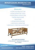 Łóżko Rehabilitacyjne Elektryczne WYPOŻYCZALNIA-SPRZEDAŻ Promocja !