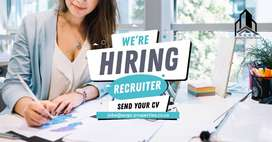 **NOW HIRING** RECRUITER IN THE PROPERTY INDUSTRY