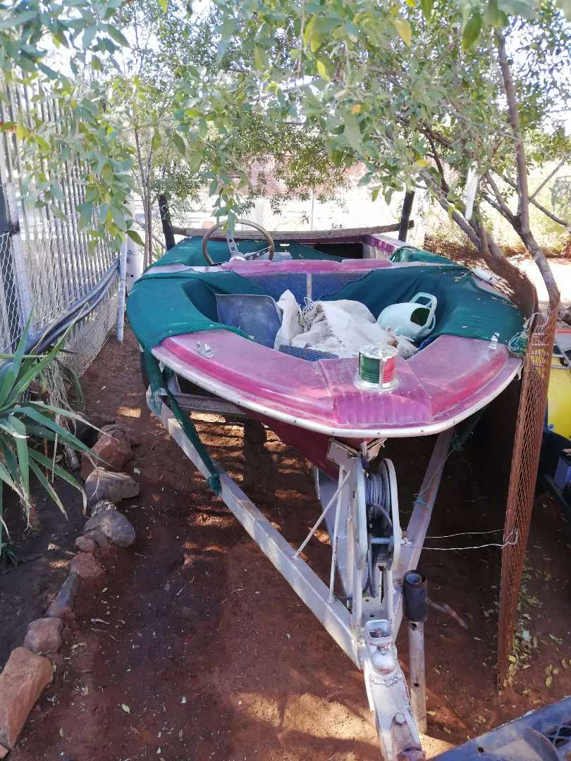 Boat with trailer 0