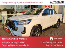 2021 2.4 Hilux Extra Cab For Sale