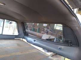 Steel top double cab canopy for Hilux.
