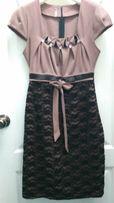 Продам трикотажное нарядное платье размер 42-44