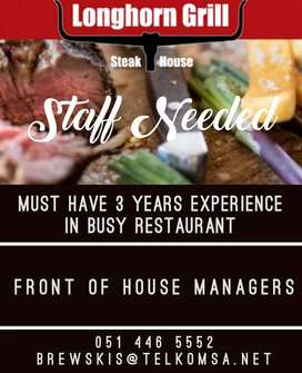 front house Manager
