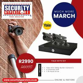 SAVE much more this March on home and personal security!