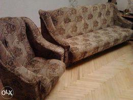 Комплект мягкой мебели: диван +2 кресла