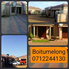 3 bedrooms available immediately