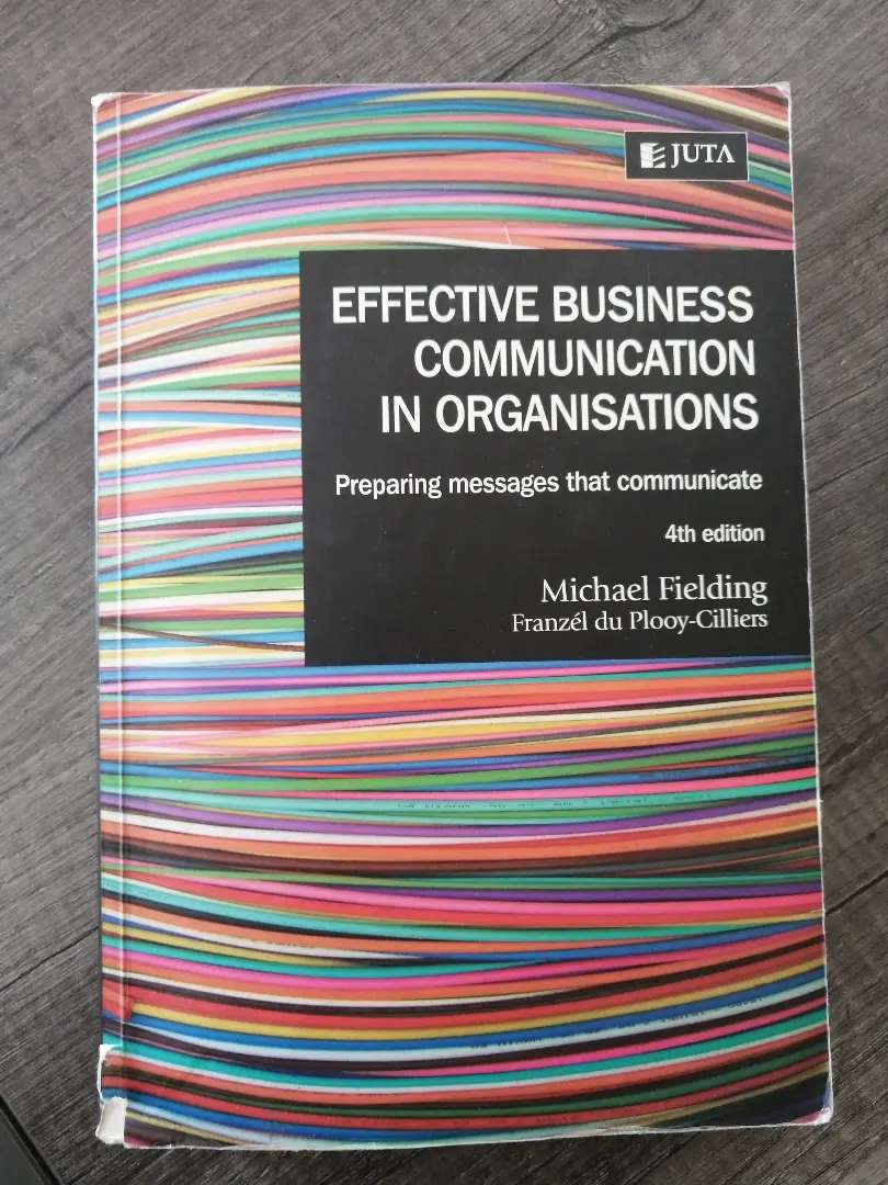 Effective business communication in organisations