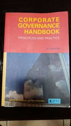 CORPORATE GOVERNANCE HANDBOOK - PRINCIPLES AND PRACTICE 2nd edition