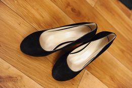 Buty na obcasie czarne rozmiar 36