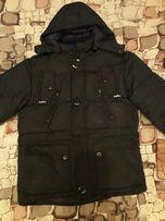 Зимняя куртка -парка на мальчика