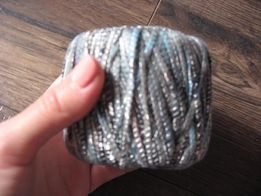 Пряжа (нитки для вязания) Yarnart серая разноцветная