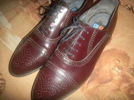 Туфли новые кожаные мужские,элитные
