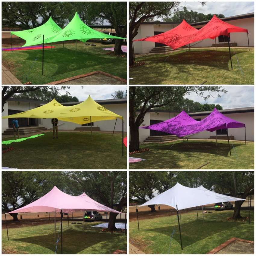 Stretch Tents for sals 0
