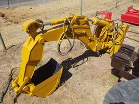 Backhoe Hydraulic Slootgrawer Attachment