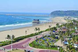 Durban Time Share - 10th Oct 2020 to 17th Oct 2020.On Beach Front
