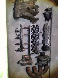 Image of Opel and daewoo distributer coil injector intake,rail 1.4head,starter