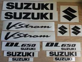 V-Strom decals stickers vinyl cut graphics