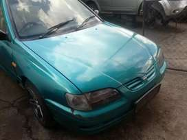 Nissan sentra stripping for spares or selling as is