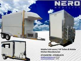 Mobile Freezers ,mobile cold rooms