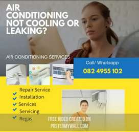 IS YOUR AIRCON LEAKING AND NOT COOLING?