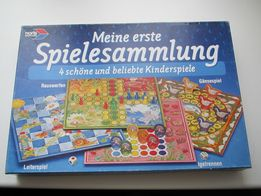 БУ немецкая игра Meine erste Spielesammlung 4+ (4 в 1)