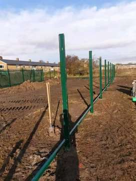 Palisade fencing, carports, welding works