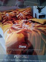 Комплект пастельного белья ТАС Евро кпб Диана(сатин)