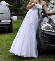Suknia ślubna ms moda / msmoda model gina. Krysztalki swarovski