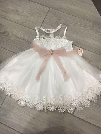 Платье на 3-4 года рост 104 см )