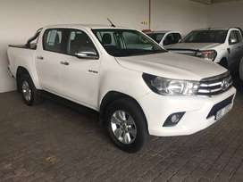 2016 Toyota 2.8 GD6 Double Cab 4x2 Manual