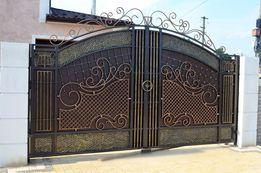 Ковані ворота. Художня ковка
