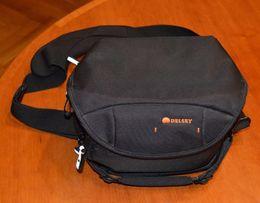 torba fotograficzna DELSEY ODC 31 na ramię czarna- jak nowa