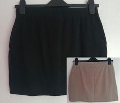 Spódniczki miniówki szara czarna beżowa spódnica mini esmara