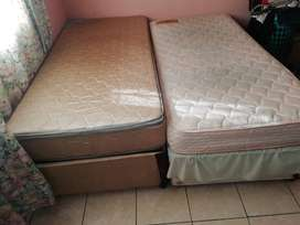 2x Single size beds
