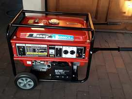 6.5kva Sunny Key Start Generator new with a Warranty for R9600