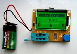 Транзистор тестер mega 328 вимірювач ESR, LCR, тестер напівпровідників
