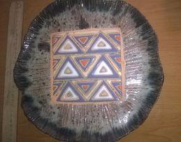 Керамическая тарелка handmade