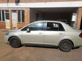 Am selling Nissan tiida with nice quality